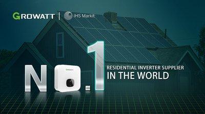Growatt-No-1-residential-inverter-supplier-in-the-world