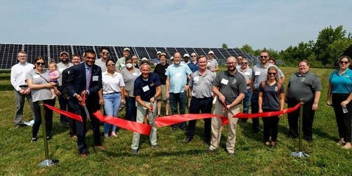 Opening of largest community solar project in Maryland