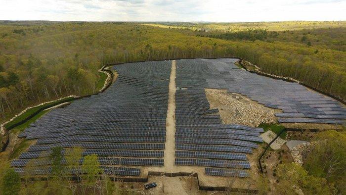 Hartford Pike solar project