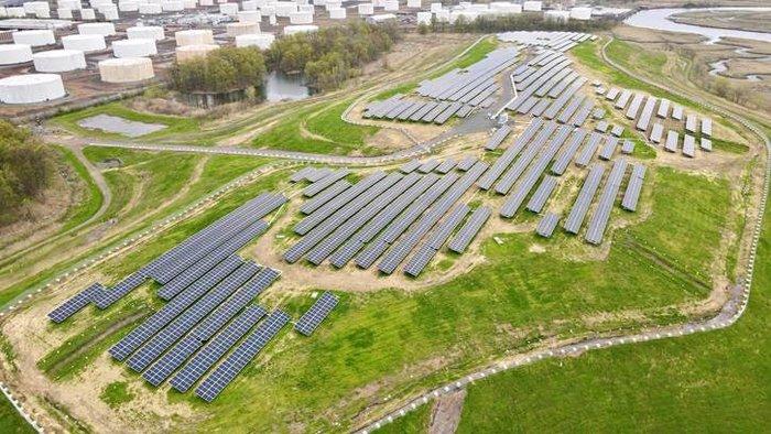 Linden Hawk Rise community solar project