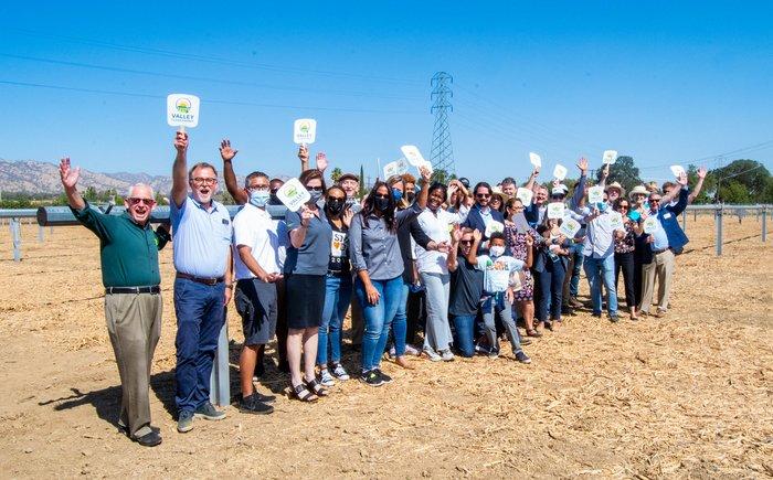 Putah Creek Solar Farms unveiling