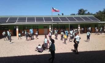 Brighten Haiti solar system