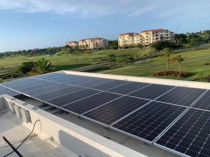 Enclave solar project