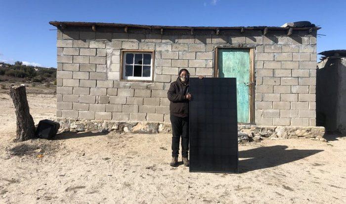 Grid alternatives solar project pai pai