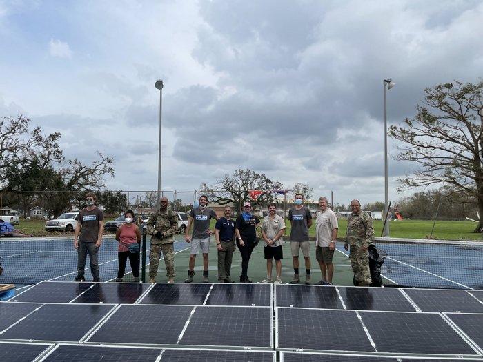 PosiGen deploys solar power to Hurricane Ida Victims in Houma, Louisiana