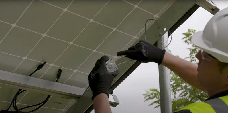 Solar bracing