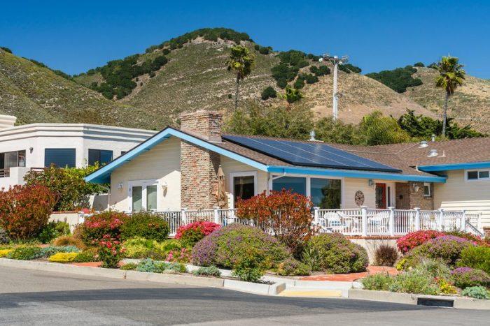 california solar home