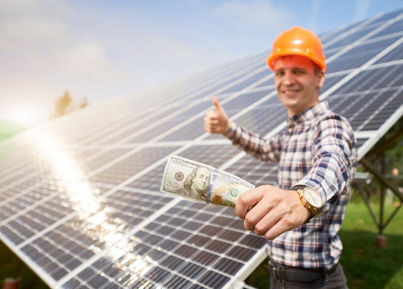 solar financing offsets